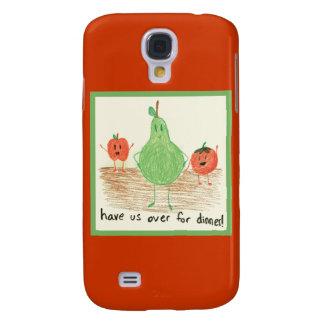 Child's Art, Red Samsung Galaxy S4 Case
