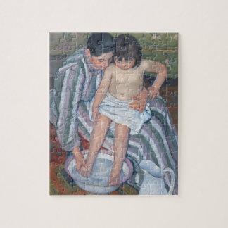 Child's bath, 1893 (oil on canvas) jigsaw puzzle