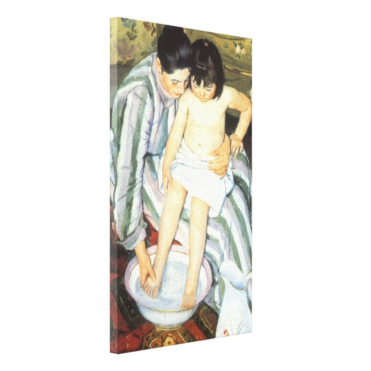 Child's Bath by Mary Cassatt Vintage Impressionism Canvas Print