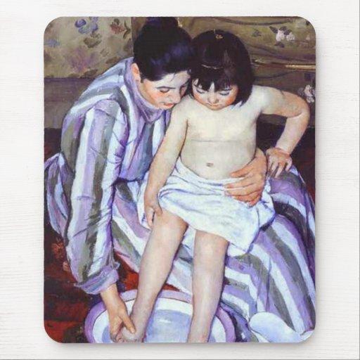 mary cassatt the childs bath 1893 mary cassatt s