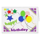 Childs Birthday Greeting Card