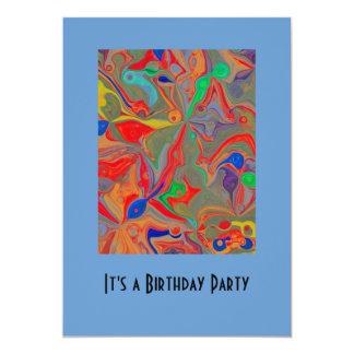 childs birthday invitation