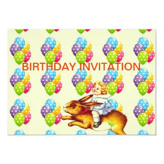 CHILD'S BIRTHDAY PARTY INVITATION - FUN!