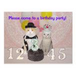 Child's Birthday Party Invitation Postcard