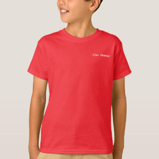 Child's Clan Thomson t-shirt (UK)
