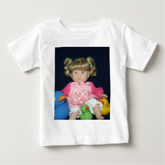Childs Doll with Ducks tee shirt