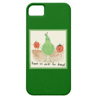 Child's Food Art, Green iPhone SE/5/5s Case