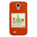 Child's Food Art Samsung Galaxy S4 Cover