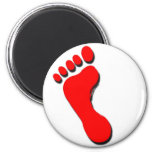 Child's Foot Print Magnet