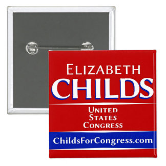 Childs for Congress Button