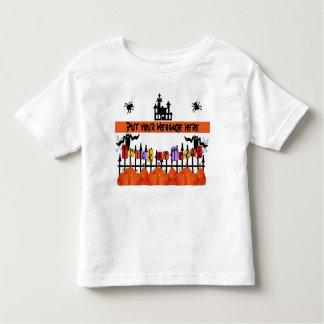 Child's Halloween Tee Shirt-Easy to Customize