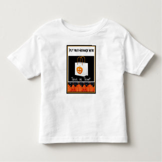 Child's Halloween Tee Shirt-Easy to Customize