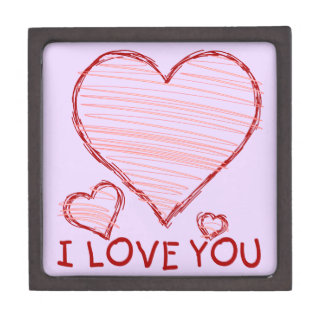 Child's Love Mothers Day Premium Jewelry Box