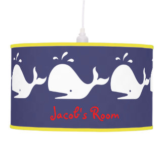 Child's name whale lamp lamps