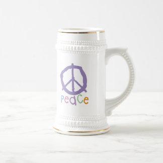 Child's Peace Sign Mugs