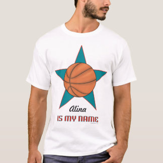 Child's Personalized Basketball T-... - Customized T-Shirt