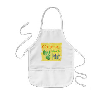 Childs Personalized Painting Apron