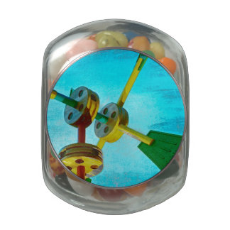 Childs Play Glass Candy Jar