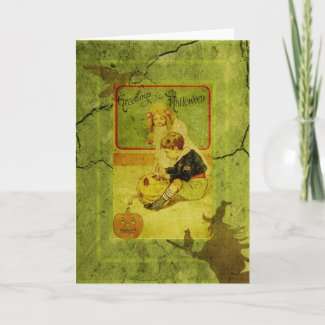 Child's Play Halloween Greeting Card