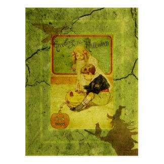 Child's Play Halloween Postcard