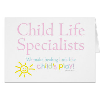 """Child's Play"" Notecards Greeting Card"