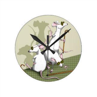 "Child's Play ""Three Blind Mice"" Clock"