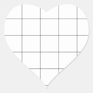 Childs Reward or Chore Chart Heart Sticker