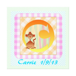 Child's Room print on canvas template