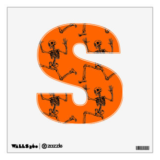 CHILDS ROOM-S FOR SKELETONS WALL STICKER