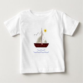 Child's Sail Boat Baby T-Shirt