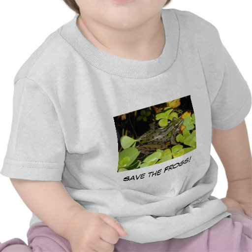 """Child's """"Save the Frogs"""" T Shirt"""