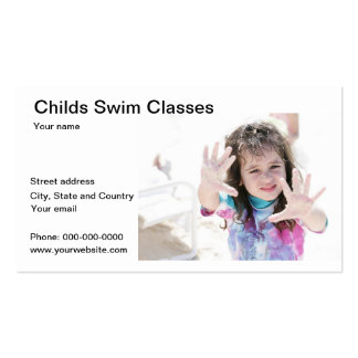 Childs Sea Swim Classes Business Card