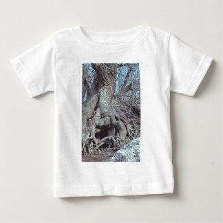 childs short sleeve tee shirt lizard tree