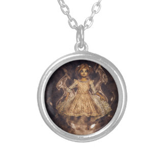 Childs Story Silver Plated Necklace