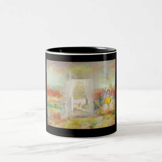 CHILDS TIME Two-Tone COFFEE MUG
