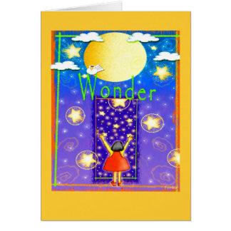 Child's Wonder Card