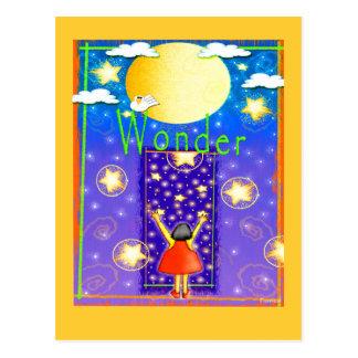 Child's Wonder Postcard