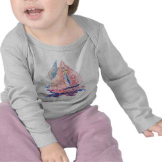 ChildT-camisa de la navegación