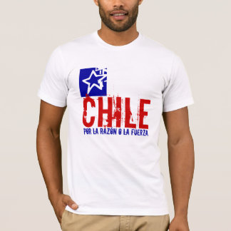 CHILE ABSTRACT FLAG T-Shirt