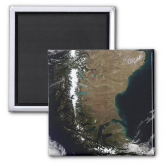 Chile and the Patagonian region of Argentina 2 Inch Square Magnet