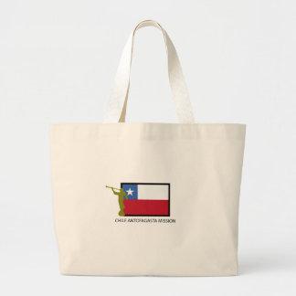 Chile Antofagasta Mission LDS CTR Large Tote Bag