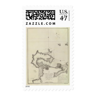 Chile Atlas Map Postage
