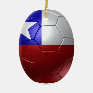 Chile ball ceramic ornament