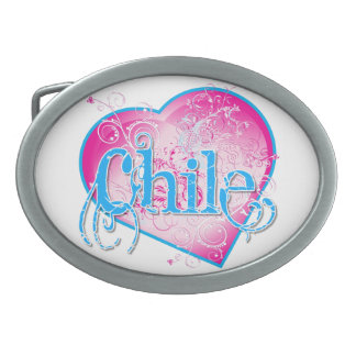Chile Belt Buckle