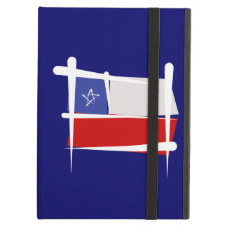 Chile Brush Flag Cover For iPad Air