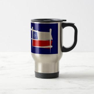 Chile Brush Flag Travel Mug