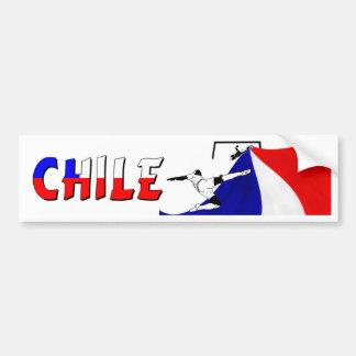 Chile Bumper Sticker