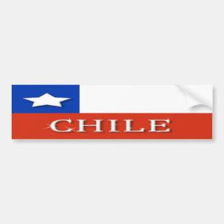 Chile Bumper Sticker Car Bumper Sticker