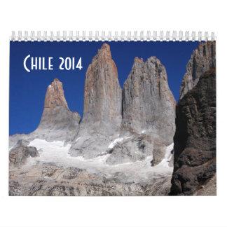 Chile Calendar 2014