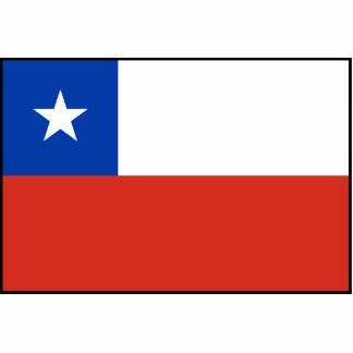 Chile – Chilean Flag Acrylic Cut Out